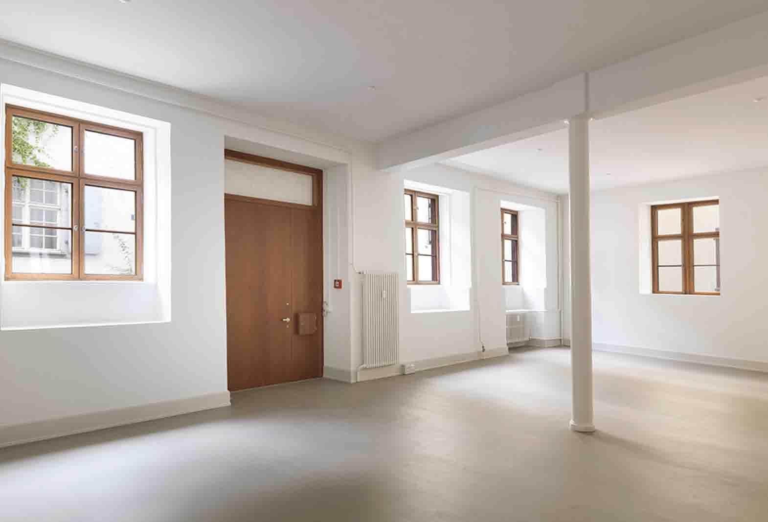 Basel Staffelberg Terrazzo ROWODECO Zementspachtelbelag