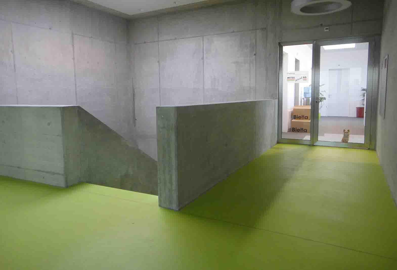 Debrunner Acifer Ruedi Weber ROWODECO - Zementspachtelbelag ROWOLINE - Wandspachtelbelag ROWOPUR - Polyurethanbelag